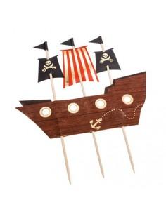 decoration pour gateau pirate