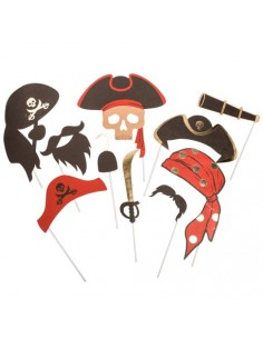accessoires photobooth pirate