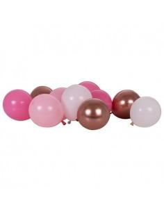 Ballons dégradé rose