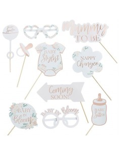 Accessoire Photo Booth baby shower