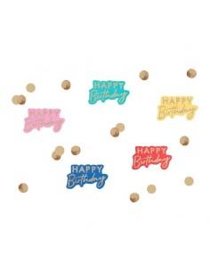 Confettis happy birthday coloé