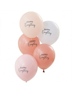 Ballons pastel hello everything