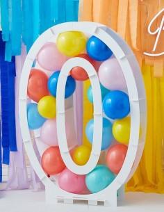 ballon chiffre 0