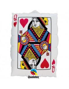 ballon carte a jouer