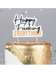 Bougie Happy fucking everything