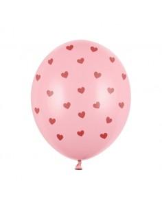 ballon de baudruche rose