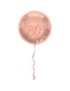 ballon rose 80 an