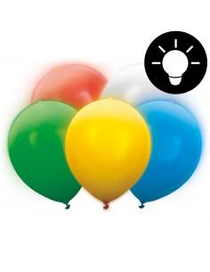 ballon lumineux led multicolore