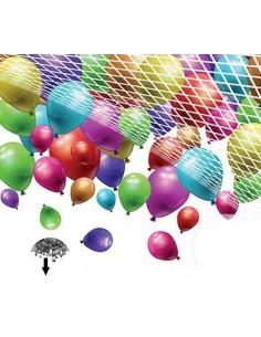 filet drop net 500 ballons