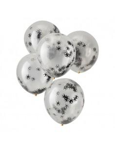 ballons transparents halloween