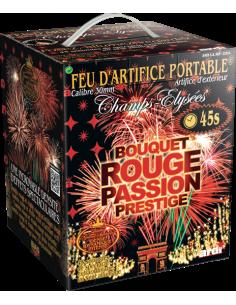 feu artifice bouquet rouge passion