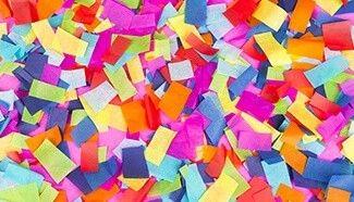 Confettis en vrac