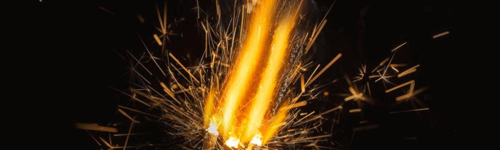 Le feu de bengale son origine