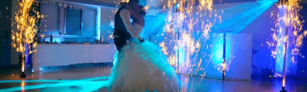 Jet de scene interieur pour mariage