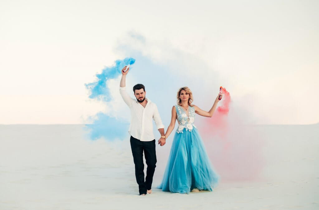 fumigene colore mariage